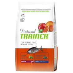 TRAINER Natural Medium Ad. Ryba a rýže 12kg