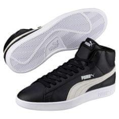 Puma Topánky Smash V2 Mid L Black-White