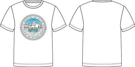 ALPINE PRO Dodgo 4 dječja majica, bijela,104–110
