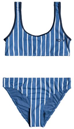 ROXY lány kétrészes fürdőruha Perfect St Bra ERGX203333-BMP3, S, kék