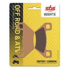 SBS Zadní brzdové destičky SBS Arctic Cat 1000 Wildcat X Ltd. 2017 směs ATS
