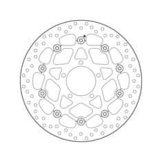 Brembo Přední brzdový kotouč Brembo KAWASAKI 1000 ZX 10 R WINTER EDITION 2016 -