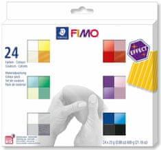 Kraftika Fimo efekt sada 24 barev 25 g