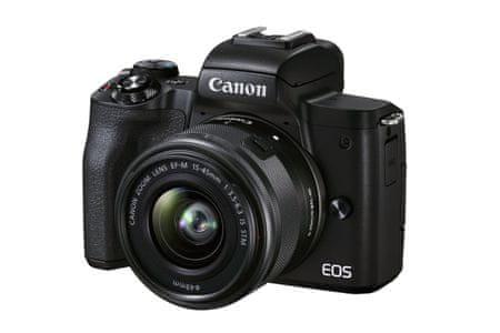 CANON EOS M50 Mark II Premium Live Stream Kit (4728C037) fekete