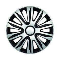 Sena Nardo 14 pokrov plaišča, srebrno-črn, 4 kosi