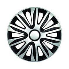 Sena Nardo 15 pokrov plaišča, srebrno-črn, 4 kosi