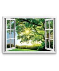 Dalenor 3D obraz Okno obrovský strom, 150x100 cm