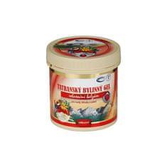 Topvet Tatranský masážní gel hřejivý 250 ml