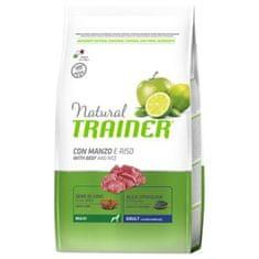 TRAINER Natural Maxi Ad. Hovězí a rýže 3kg