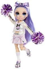 Rainbow High Fashion bábika Roztleskávačka Violet Willow