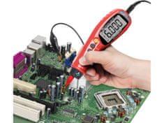 Extol Premium Skúšačka napätia s automatickou voľbou rozsahov, True RMS, max. 1000V AC/DC,