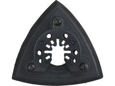 Extol Premium Držiak brúsnych delta výsekov 90mm, suchý zips, 6 odsávacích otvorov na 417200,417221