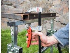 Fortum Svorka stolárska kovová s račňovým rýchlouzáverom, 200x80mm