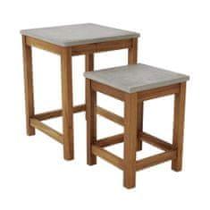 Butlers Odkládací stolek set 2 ks