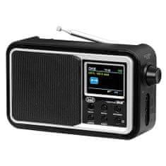 Trevi DAB 7F96 BK Prenosné rádio, DAB 7F96 BK Prenosné rádio