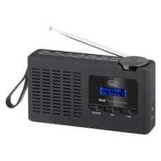 Trevi DAB 7F94 R BK Prenosné rádio, DAB 7F94 R BK Prenosné rádio