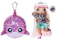Na! Na! Na! Surprise lutka u blistavoj životinji Sparkle Dolphin, 2u1