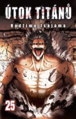 Isajama Hadžime: Útok titánů 25