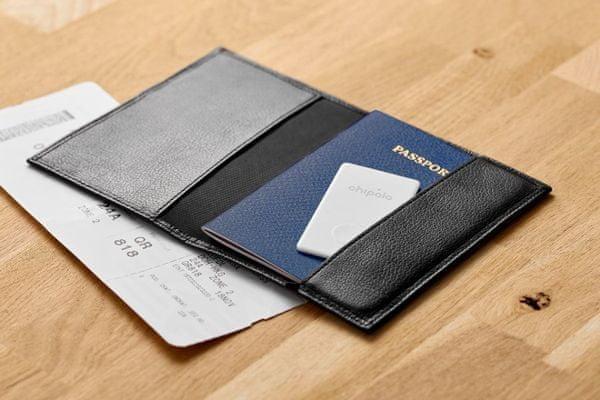 Chipolo CARD - Bluetooth  vékony kártya, amely az alkalmazási tartomány tárgyát csengeti 60 m-es értesítés lokalizációs illesztőprogram elvesztés