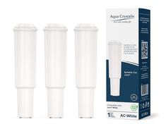 Aqua Crystalis Vodní filtr AQUA CRYSTALIS AC-WHITE do kávovarů značky JURA CLARIS - kompatibilní JURA CLARIS WHITE 3ks
