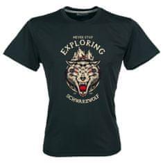 Schwarzwolf SCHWARZWOLF COOL SPORT MEN funkční tričko černá