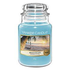 Yankee Candle Gyertya egy üveg Yankee gyertyában, Menekülés a strandra, 623 g