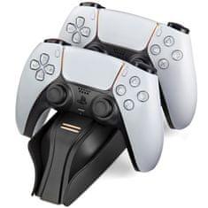 Snakebyte Twin:Charge 5 duální nabíjecí stanice PS5, Černá