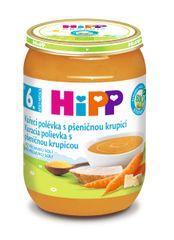 HiPP BIO Slepačia s pšeničnou krupicou 6x 190 g