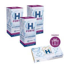 H2 World H2 Forte® 120 tablet ( 3 balení ) + DÁREK H2 Dent Care®