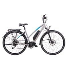 Xplorer X1 28 električni bicikl, svijetlo siva