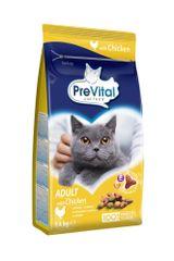 PreVital Karma dla kota Adult kurczak 4x1,4 kg