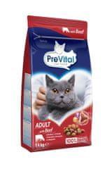PreVital Karma dla kota Adult wołowina 4x1,4 kg