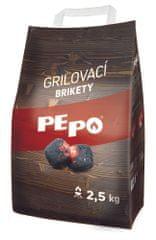 PEPO PE-PO grilovací brikety 2,5 kg