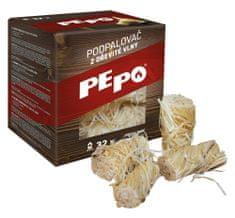PEPO PE-PO podpalovač z dřevité vlny 32 ks