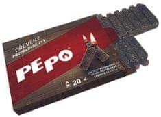 PEPO PE-PO dřevěný podpalovač 2v1