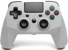 Snakebyte Game:Pad 4 S Wireless (grey) bezdrôtový ovládač pre PS4