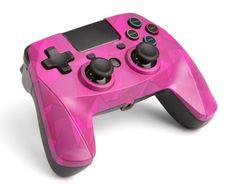 Snakebyte GAME:PAD 4 S WIRELESS bezdrátový ovladač PS4 bubblegum camo
