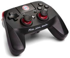 Snakebyte FC Bayern Munchen GAME:PAD 4 S WIRELESS bezdrátový ovladač PS4