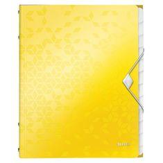 LEITZ Triediaca kniha 12 WOW žltá