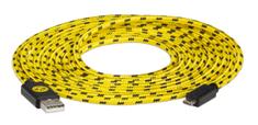 Snakebyte BVB univerzální USB CHARGE:CABLE kabel USB - microUSB 3m