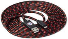 Snakebyte Bayern Munchen univerzální USB CHARGE:CABLE kabel USB - microUSB 3m