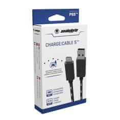 Snakebyte PS5 Charge:Cable 5 USB 2.0 nabíjecí kabel A - USB C 3 m