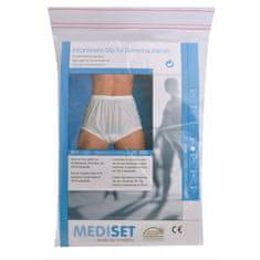 Mediset Inkontinenční dámské kalhotky s širokým měkkým gumovým pasem a absolutně nepropustnou PU - fólií po