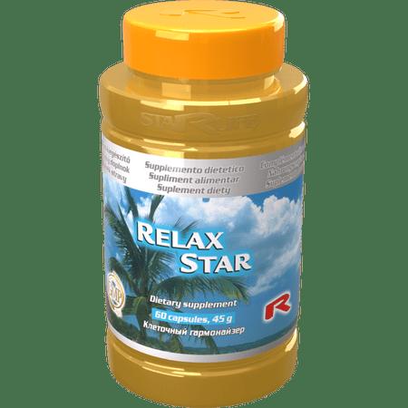 """Starlife RELAX STAR, 60 tabletta """"relaxáció, fejfájás"""""""