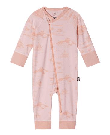 Reima Lány rugdalózó Moomin Trygg, 56 - 62, rózsaszín