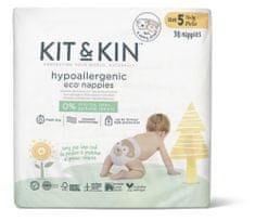 Kit & Kin Eko plienky, veľkosť 5 (11+ kg) 30 ks