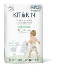 Kit & Kin Eko plienkové nohavičky, veľkosť 6 pull ups (15++ kg) 18 ks