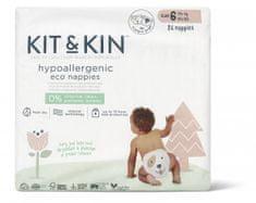 Kit & Kin Eko plienky, veľkosť 6 (14+ kg) 26 ks