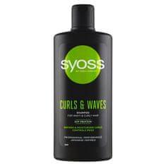 Syoss Šampón pre kučeravé a vlnité vlasy Curls & Waves (Shampoo)