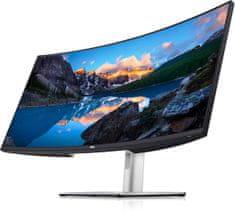 DELL U3821DW IPS WQHD+ monitor, zakrivljeni, USB-C, RJ45 (210-AXNT)